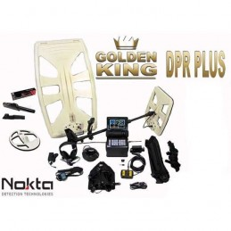 detector de metales nokta golden king dpr plus