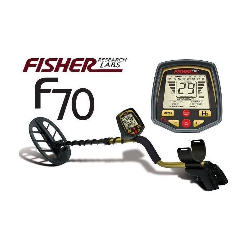 detector de metales fisher f70 avanced