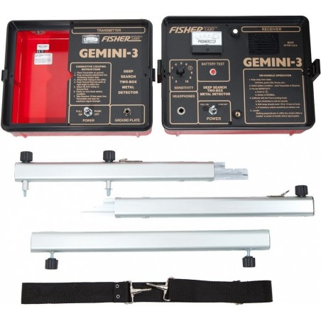DETECTOR DE METALES FISHER LABS GEMINI-3